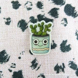 Cactus Cutie Flowerpot - Pin