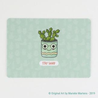 Cactus Cutie Flowerpot - Postcard