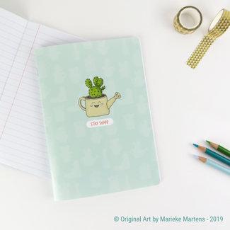 Cactus Gieter - Notitieboekje