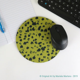 Cheetah Pattern - Golden brown - Mouse pad