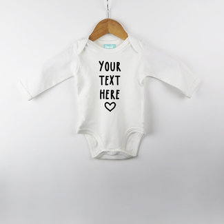 Choose your own text - Bodysuit - Babies