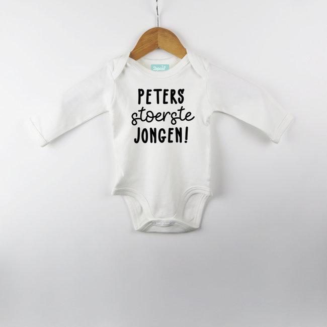 """NL """"Peters/Meties jongen"""" - Bodysuit - Customizable - Babies"""