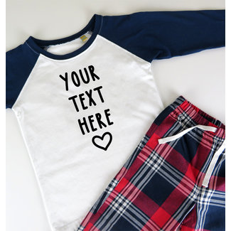 Choose your own text- Personalizable - Kids - 0/36 months