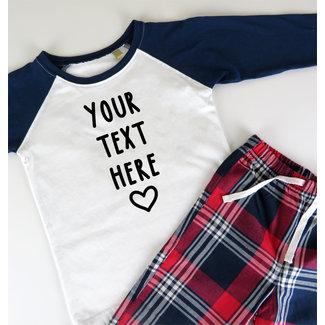 Kies je eigen tekst - Personaliseerbaar - Kinderen - 0/36 maanden