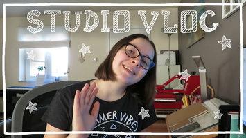 STUDIO VLOG 4 | Beaucoup de dessins et j'emballe quelques commandes!