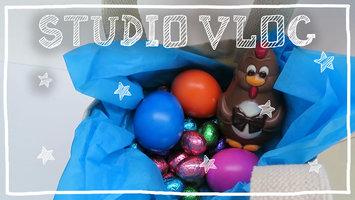 STUDIO VLOG 5 | Faire des sacs de Pâques et pratiquer différents matériaux