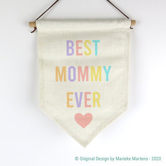 Vlag | Best mommy ever