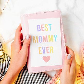 Wenskaart | Best mommy ever