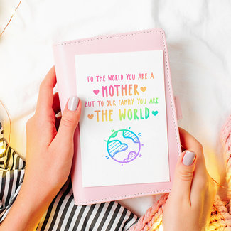 Greeting card | You are the world