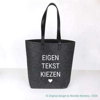 Shopper bag | Own text choice