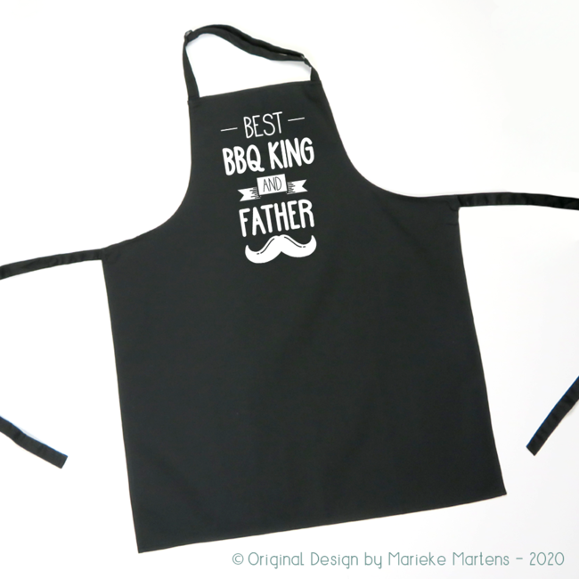 BBQ / Kitchen Apron | Best BBQ king and Father