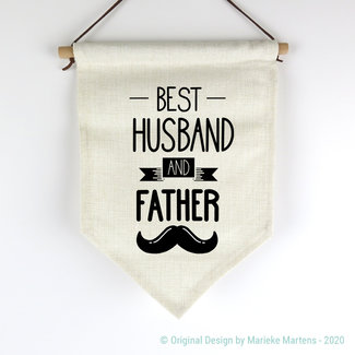 Vlag | Best husband and father