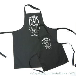 BBQ / Kitchen Apron set | Father daughter