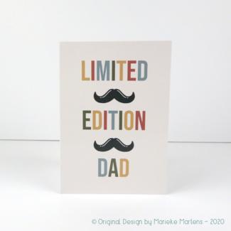 Wenskaart | Limited edition dad