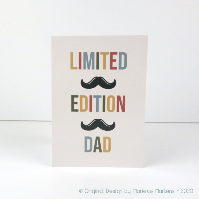 Greeting card | Limited edition dad