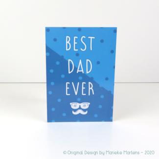Wenskaart | Best dad ever