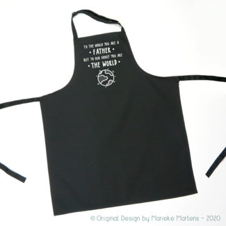 BBQ / Kitchen Apron | To the world