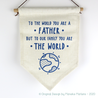Vlag | You are the world