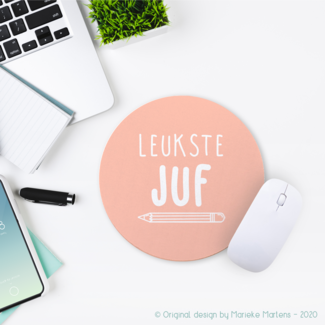 Mouse pad |  Leukste juf/meester (NL only)