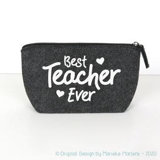 Pencil case | Best teacher ever
