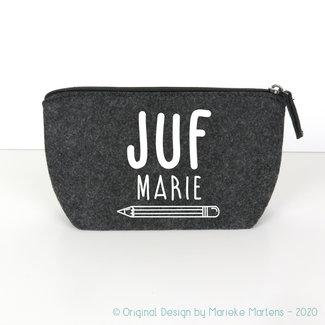 Pencil case | Juf/meester met eigen naam (NL only)