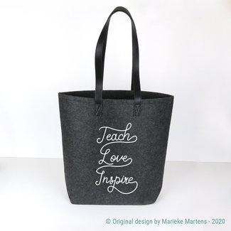 Shopper bag | Teach, Love, Inspire