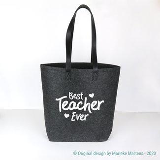 Shopper tas | Best teacher ever