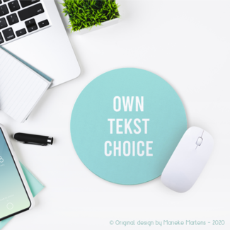 Mouse pad | Own text choice