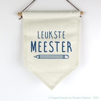 Vlag | Leukste juf/meester