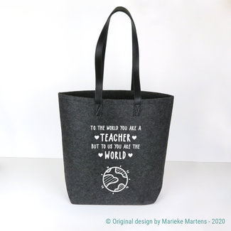 Shopper bag | To the world
