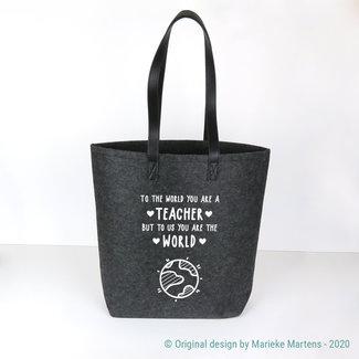 Shopper tas | To the world