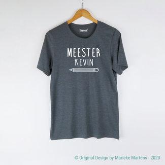 T-shirt | Meester met eigen naam (NL only)