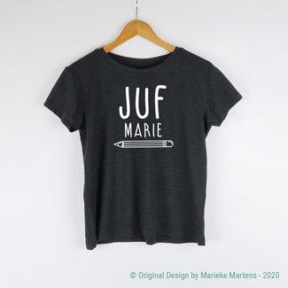 T-shirt | Juf met eigen naam (NL only)