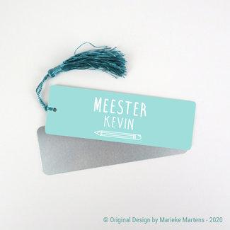 Bookmark   Juf/meester met eigen naam (NL only)