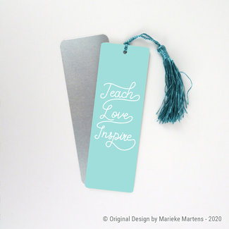 Bookmark   Teach, Love, Inspire