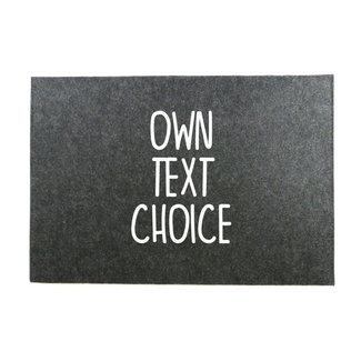 Laptop Sleeve | Eigen tekst keuze