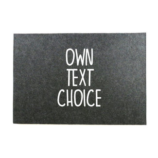 Laptop Sleeve |  Own text choice