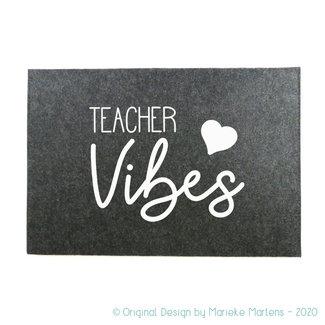 Laptop Sleeve |  Teacher vibes