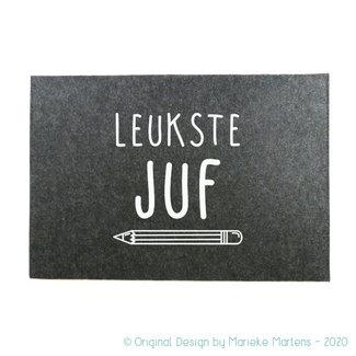 Laptop Sleeve |  Leukste juf/meester (NL only)