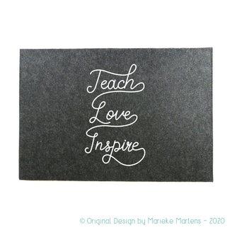 Laptop Sleeve | Teach, Love, Inspire