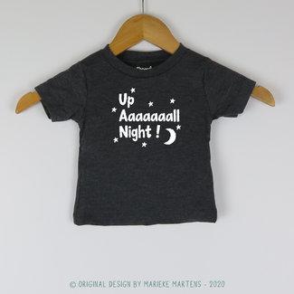 T-shirt | Up all night | 3/24 Months
