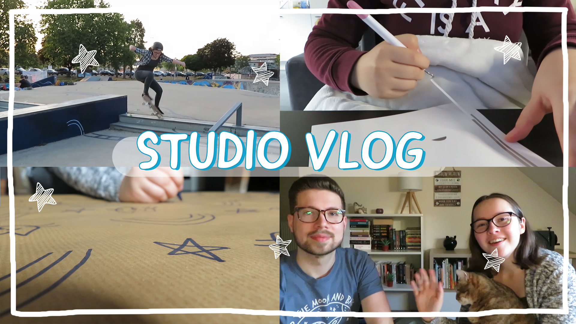 STUDIO VLOG 10 | What went wrong this week - Making orders - Being outside again