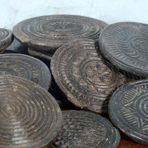 Vintage Adventures Gedecoreerde chapati steen