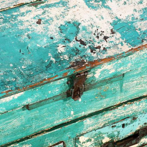 Vintage Adventures Winkelkist turquoise