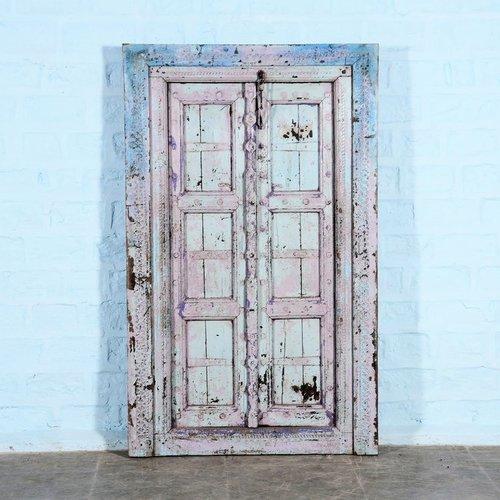 Vintage Adventures Indiase poort blauw paars