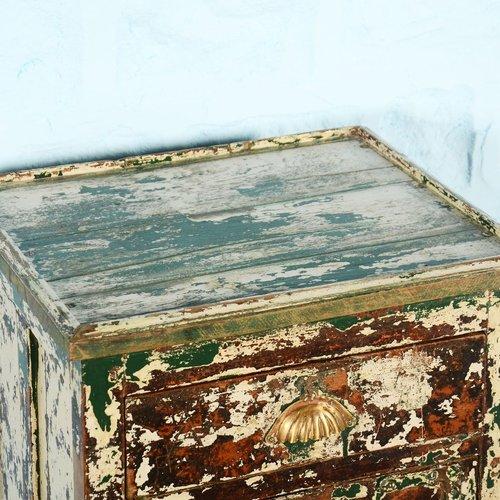 Vintage Adventures Secretaris kastje groen