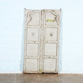 Vintage Adventures Antieke deuren babyblauw