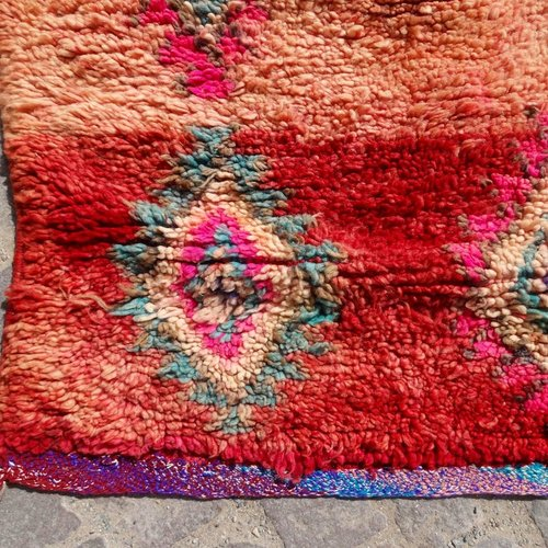 Vintage Adventures Vintage wollen Berber Azizal vloerkleed uit Marokko