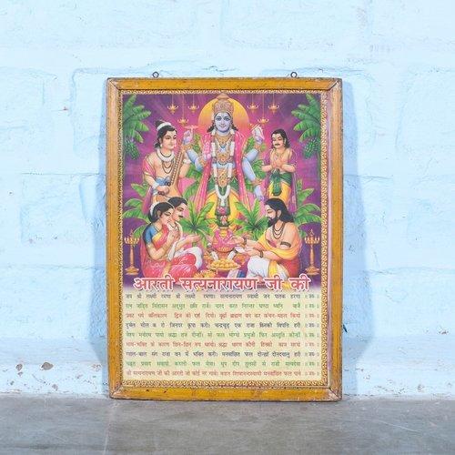 Vintage Hindu poster 3
