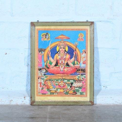 Vintage Hindu poster 7